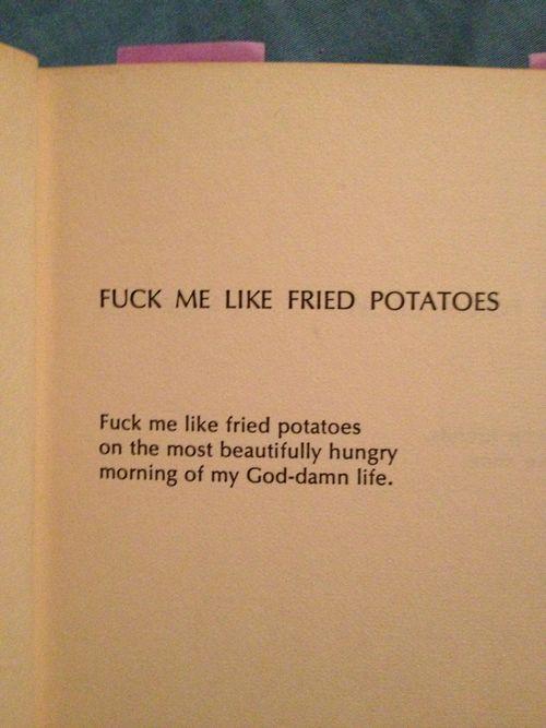 richard brautigan love poem