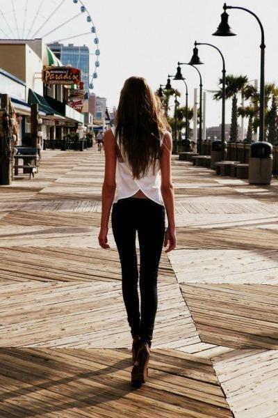 . #brown -  long
