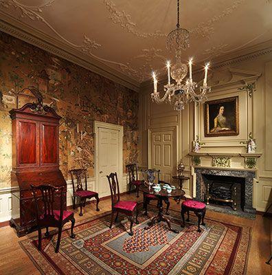 Room From The Powel House Philadelphia Metropolitan