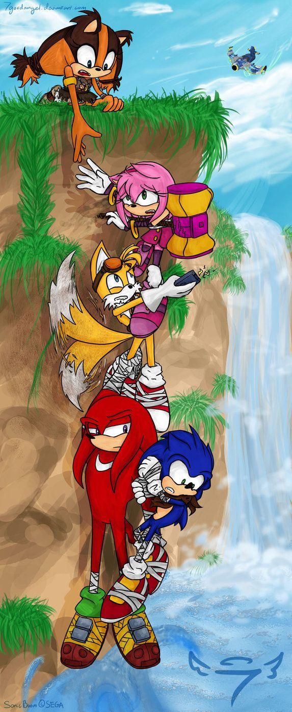 A Little Help Here Sonic Boom Sonic Boom Sonic Sonic Heroes
