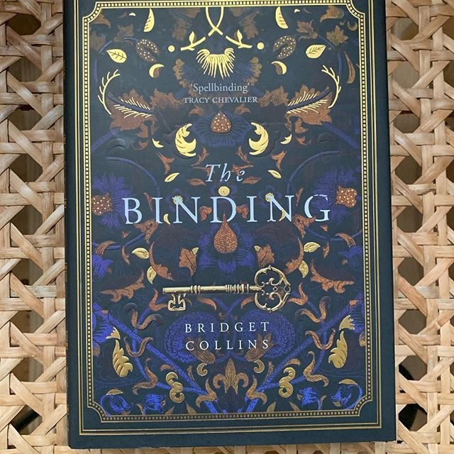 I #amreading THE BINDING By Bridget Collins