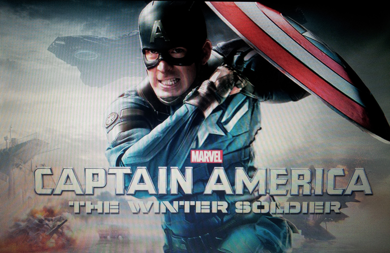 """""""CAPTAIN AMERICA THE WINTER SOLDIER"""" UltraViolet Code (HD"""