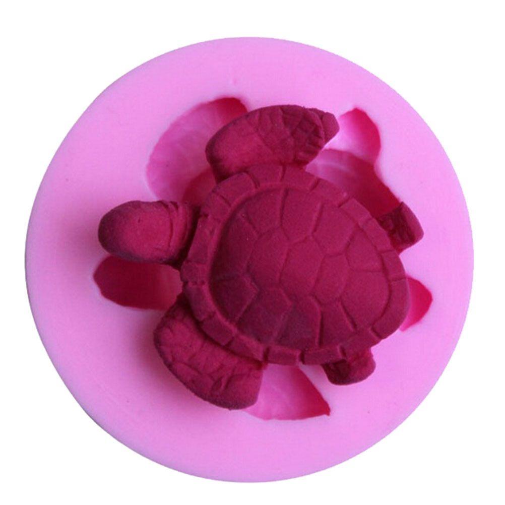 Tortoise Shaped Silicone Fondant Cookie Mould Cake Decor Baking Chocolate Mold G