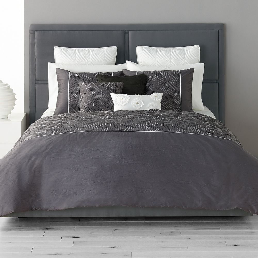 Simply Vera Vera Wang Infinity Bedding Collection Comforter Sets Bed Comforter Sets Duvet Cover Sets