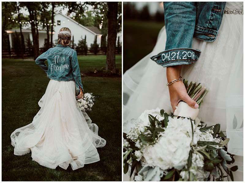 Chamarras personalizadas para tu boda