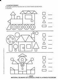 Resultado de imagen para figuras geometricas en preescolar para
