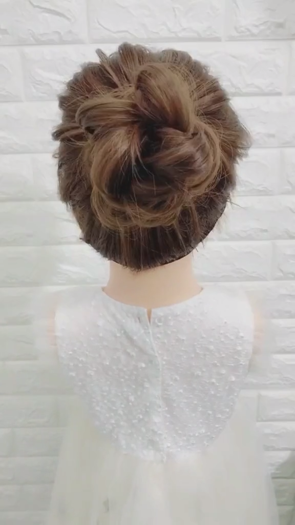 easy hairstyles for medium hair quick diy 80+ Stunning Bridal Hairstyles to Steal Right Now