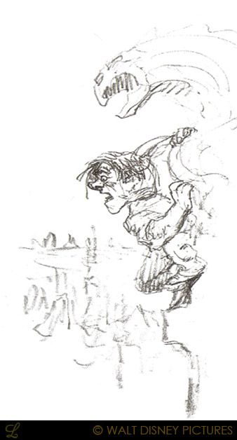 Living Lines Library: The Hunchback of Notre Dame (1996) - Character: Quasimodo