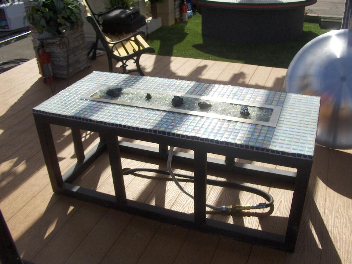 build your own fire pit table - over well equipment - Build Your Own Fire Pit Table - Over Well Equipment Backyard