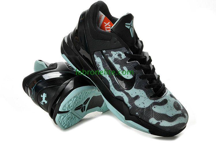 fdb8471515bf Kobe Bryant Shoes 2013 Poison Dart Easter Mint Candy Black 488371 ...