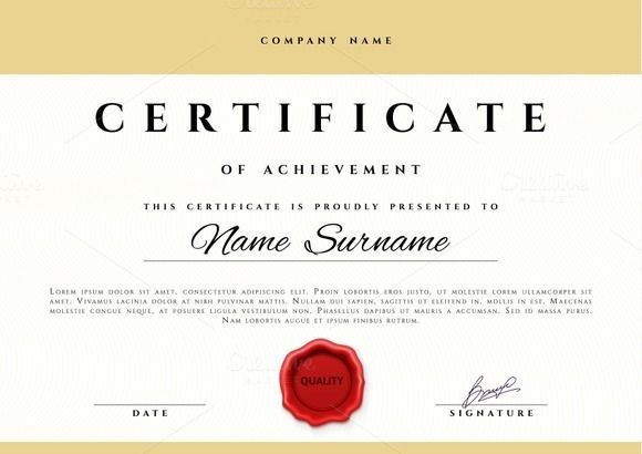 Certificate design Pinterest Certificate design and Logos