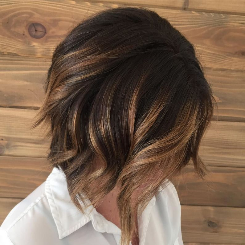 70 Flattering Balayage Hair Color Ideas for 2019 #caramelbalayage