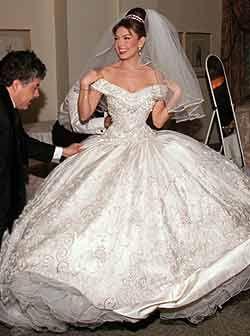 Thalia Tommy Mottola Nunta Cu Stil Beautiful Wedding Dresses