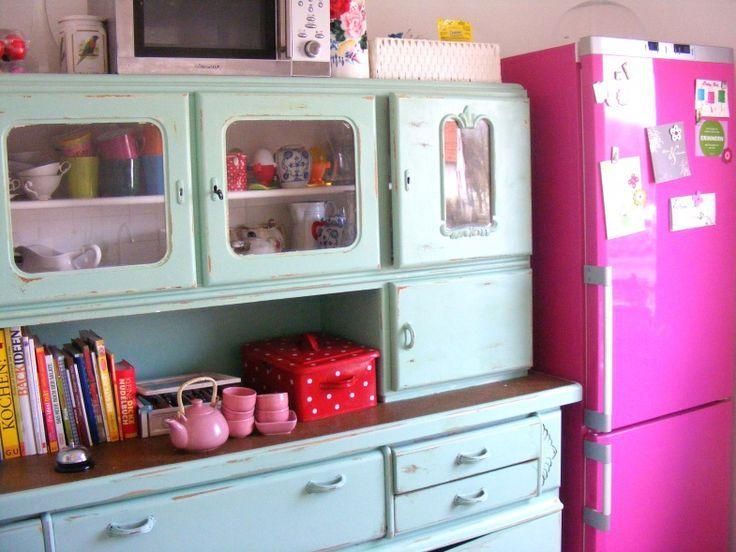 Küchenschrank Retro ~ Diy küchenbuffet furniture alter küchenschrank