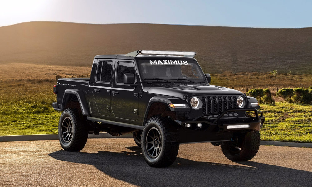 2020 Hennessey Maximus 1000 Jeep Gladiator Truck Jeep Gladiator