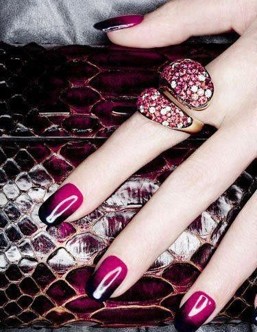 Nail Painting And Beautiful Rings