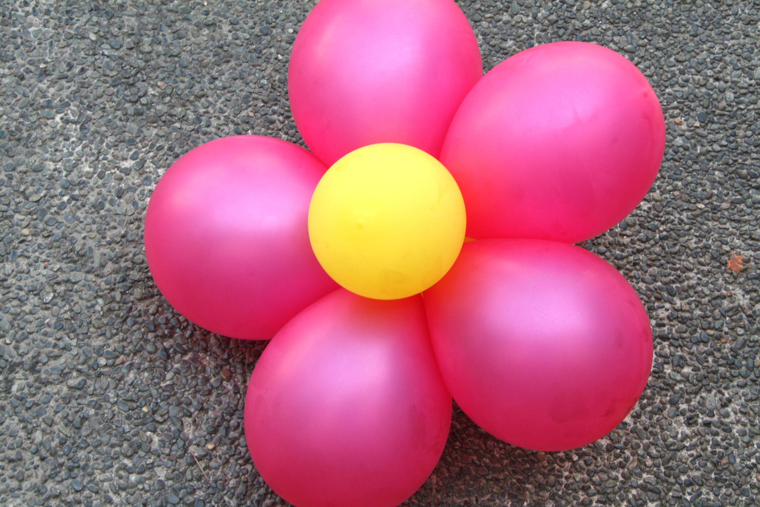 Create Decorative Balloon Flowers Balloon Flowers Create And Flower