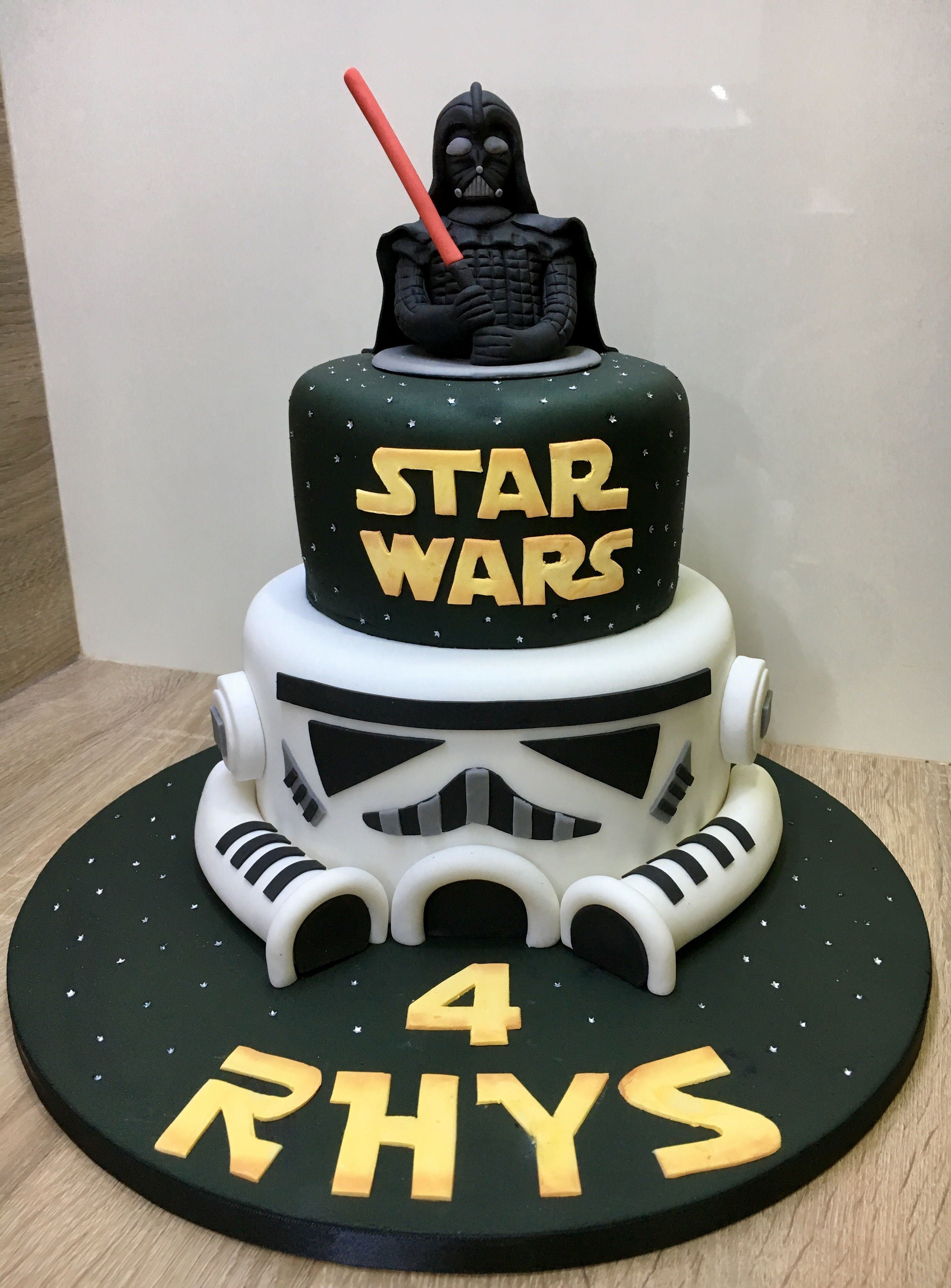 23 Creative Image Of Star Wars Birthday Cake Ideas With Images