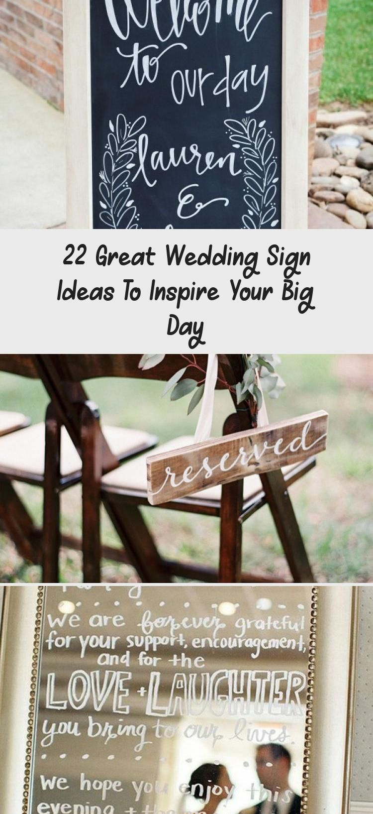 22 Great Wedding Sign Ideas To Inspire Your Big Day Wedding 2020