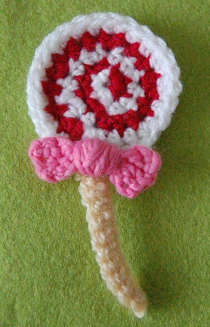 Ravelry Lollipop Brooch Pattern By Twinkie Chan Crochet