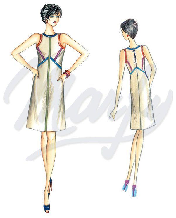 Photo of Model 3358 PDF | Sewing Pattern Dress