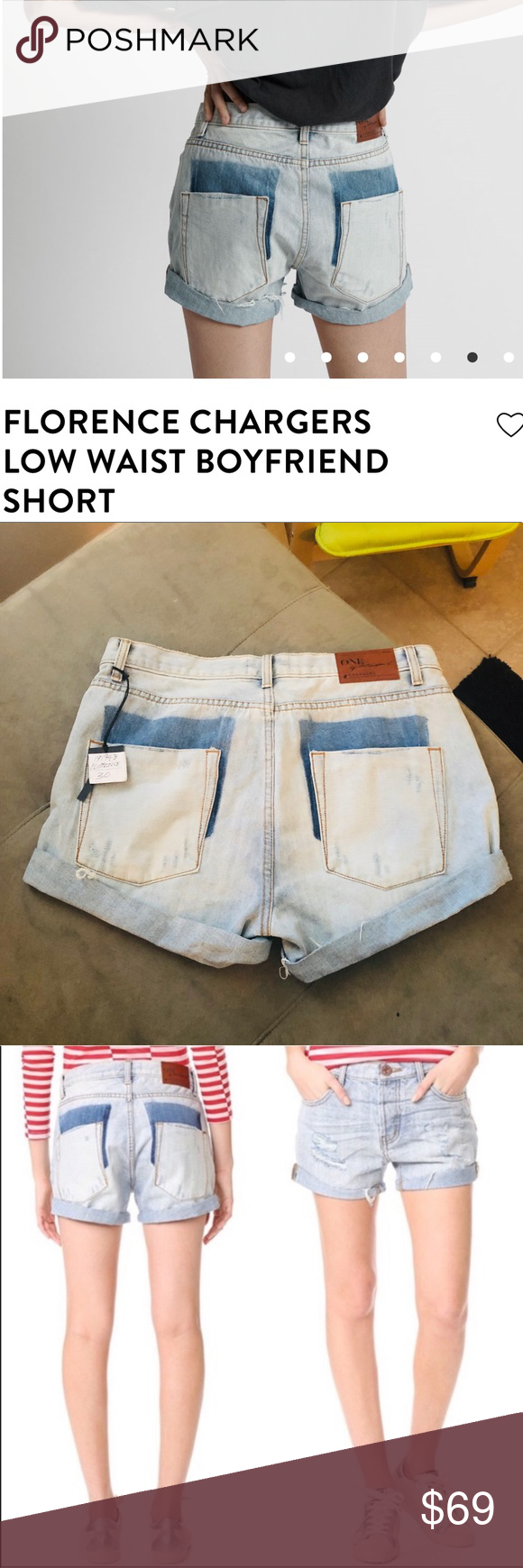 One Teaspoon Nwt Florence Chargers Denim Shorts 30 These Absolutely Adorable Brand New One Teaspoon Florence Chargers Short With Images Denim Shorts Fashion Fashion Trends