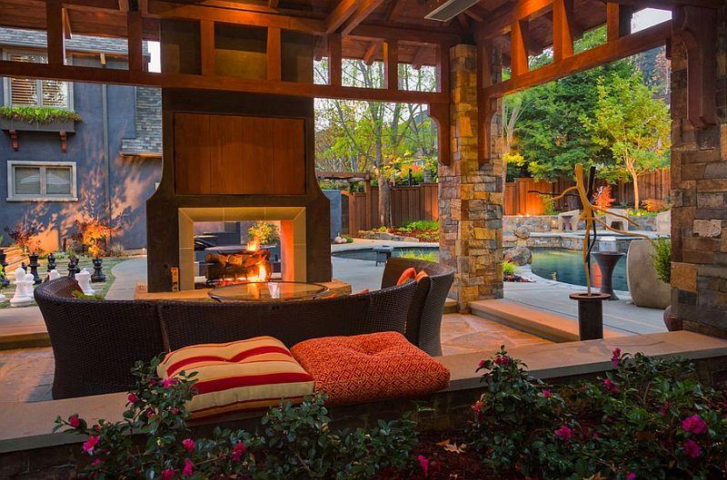Tv Above Fireplace Design Ideas Indoor Outdoor Fireplaces