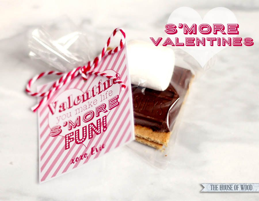 Valentines day smores free printable gift tags free printable make these yummy smore valentines for valentines day free printable gift tag to negle Gallery