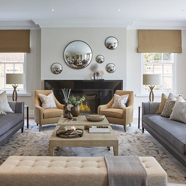 One of our more colourful designs for the living room at  show home project  also rh pinterest