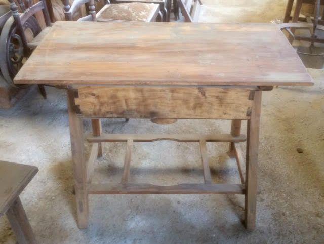 Mesa de cocina antigua 99 x 54 cm | Mesas cocina antiguas ...