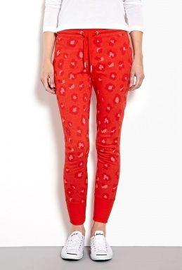 Leopard Sweat Pants by Zoe Karssen