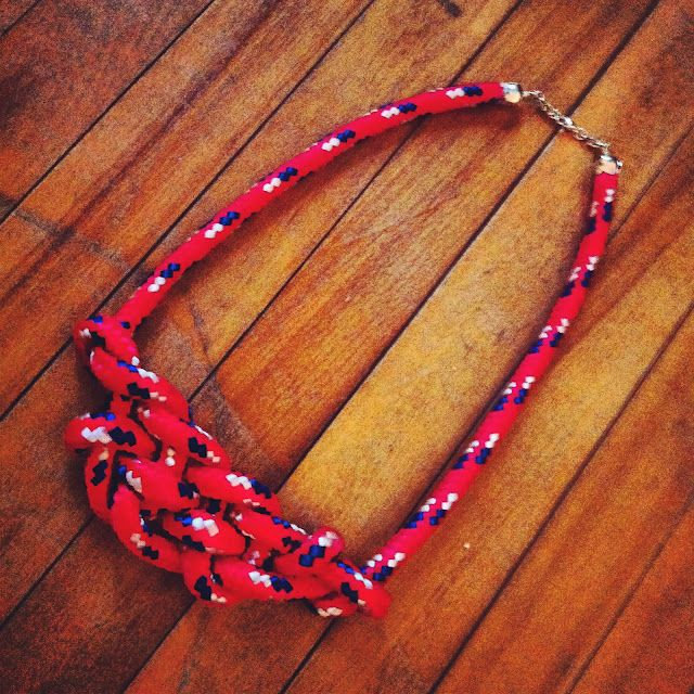 The Feminista Journals - Rope Necklace