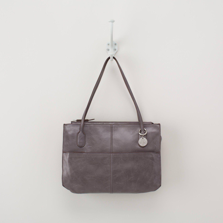 Granite HOBO Vintage Friar Top-Handle Shoulder Bag
