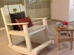 From a b pallet rocking chair projects to try dondolo