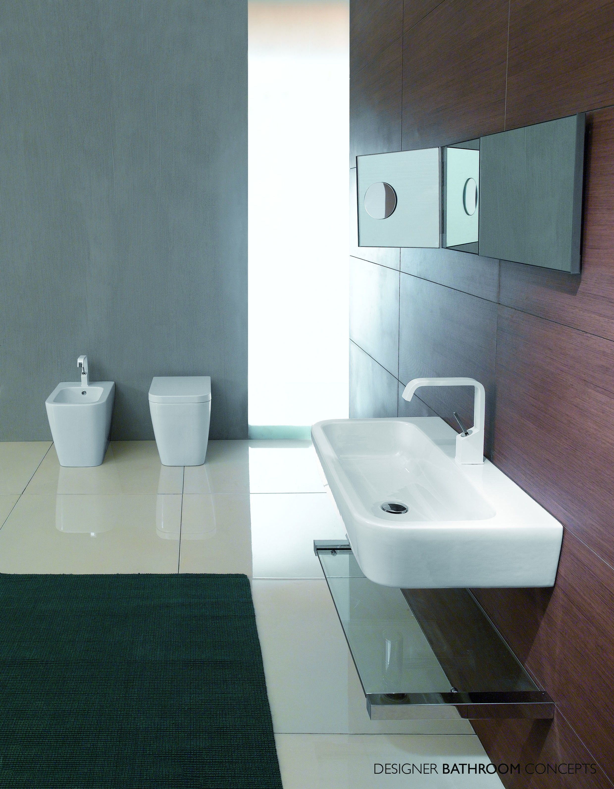 Trac Designer Back to Wall Toilet & Suite from ...