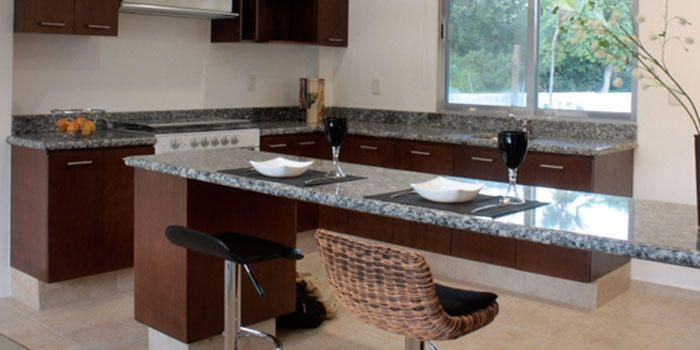 mesada granito gris mara en cocina - Buscar con Google | k ...