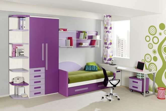 Camas con escritorios con cajon buscar con google - Dormitorios juveniles modernos de diseno ...