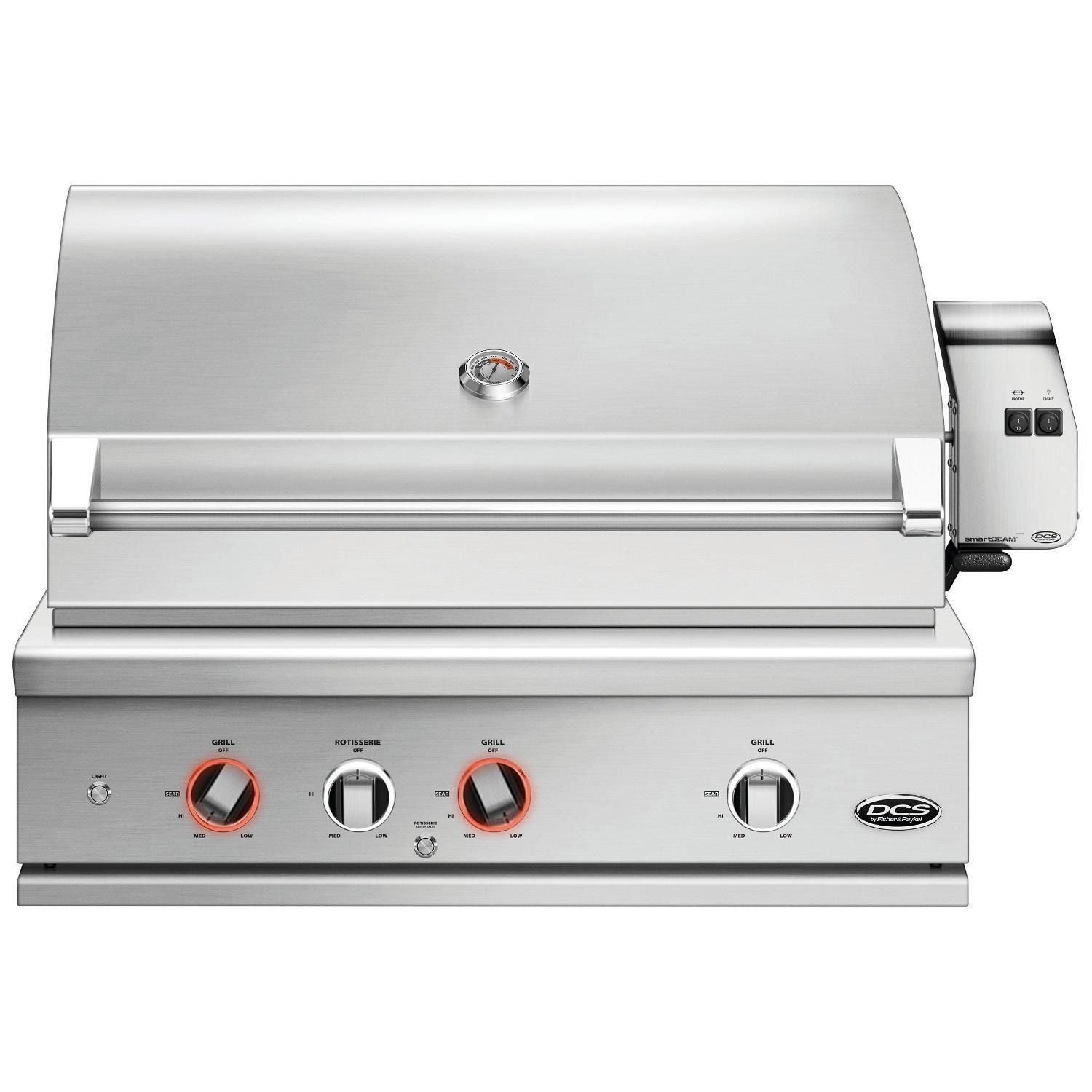 Dcs Series 9 Evolution 36 Inch Built In Natural Gas Grill With Rotisserie Be1 36rc N Bbqguys In 2020 Built In Gas Grills Gas Grill Built In Grill