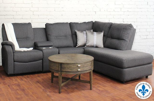 Sectionnels Sectionnel Inclinable Sofa In 2019 Salon