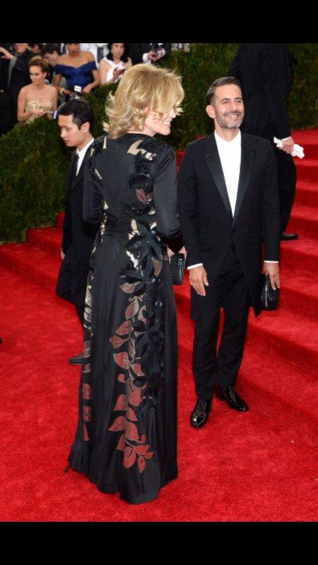 Jessica Lange and Marc Jacobs, MET Gala 2014