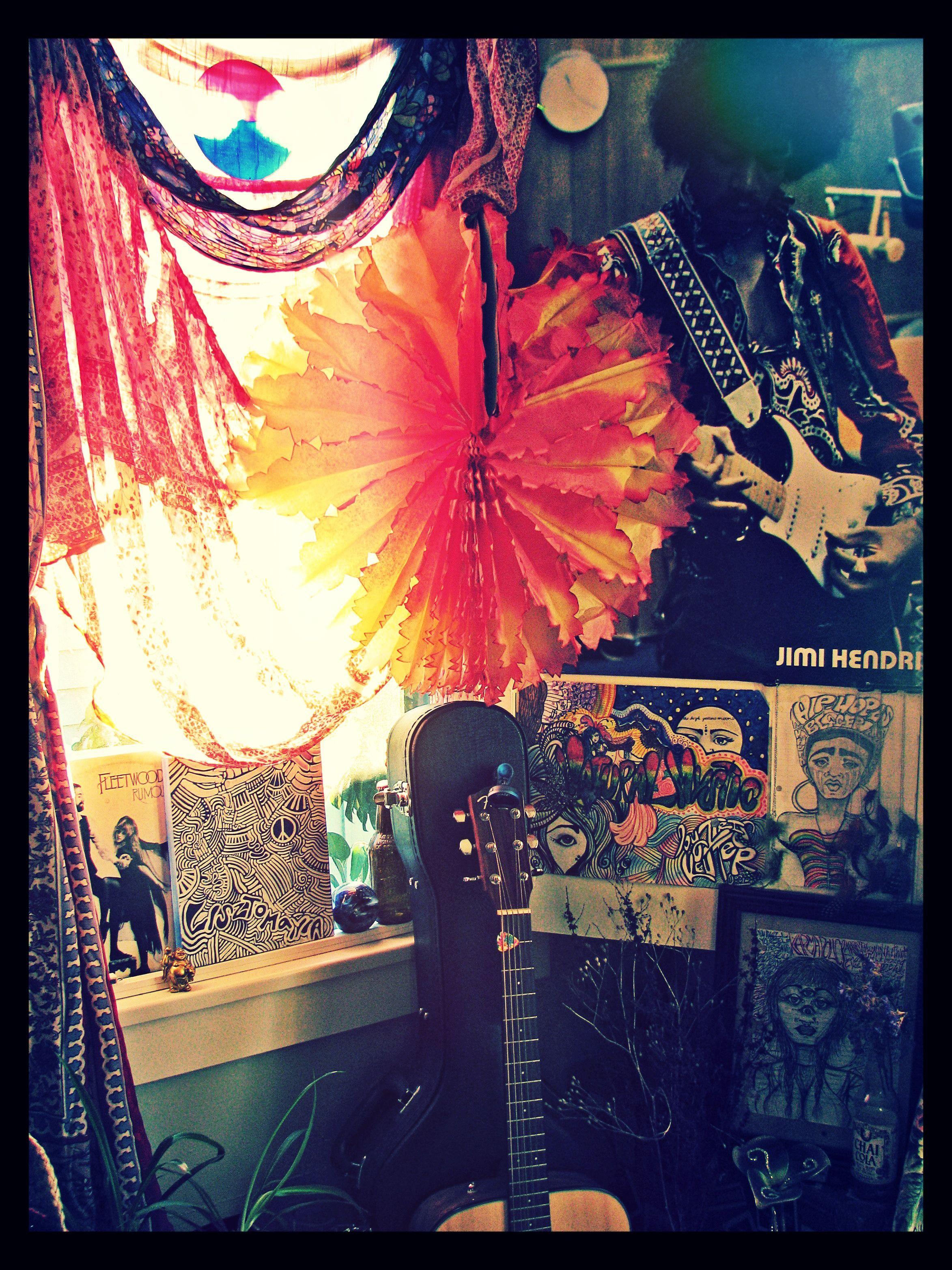my homey little hippie room :) | Gypsy | Pinterest