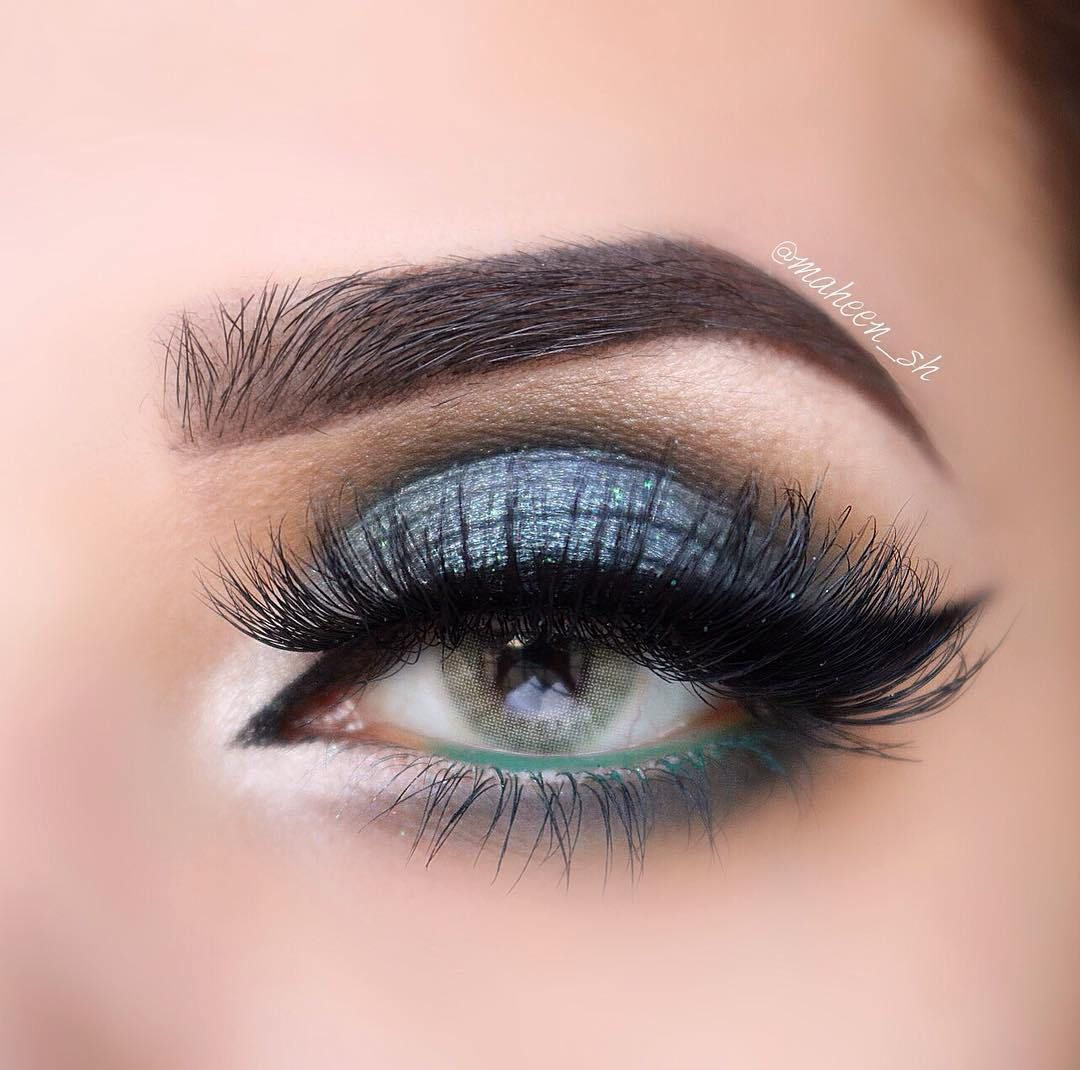 Enchanted Forest eye makeup