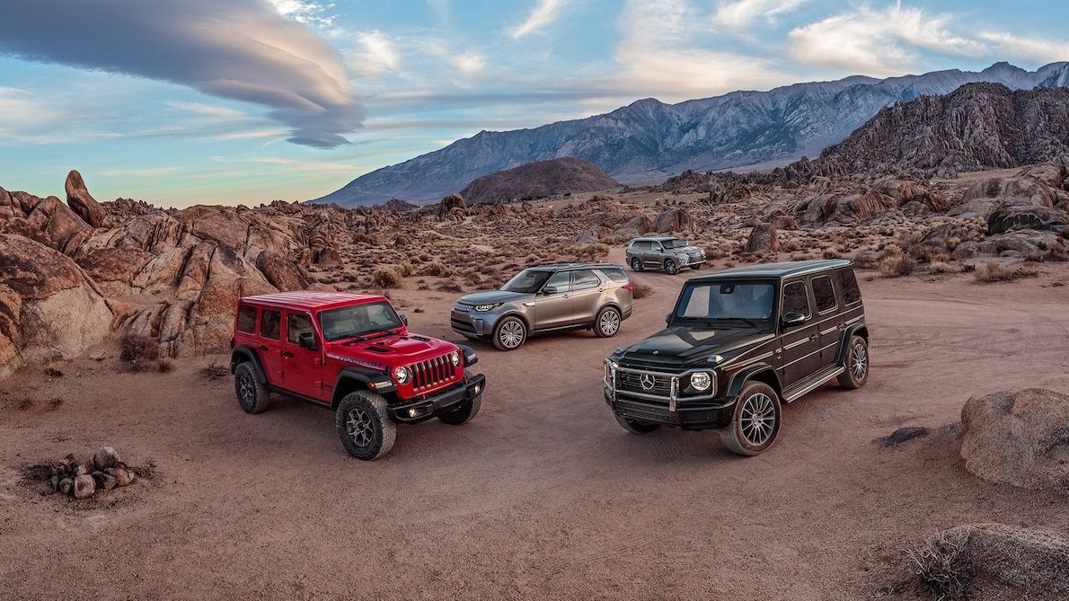 Lexus Lx Vs Jeep Wrangler Vs Mercedes Benz G Class Vs Land