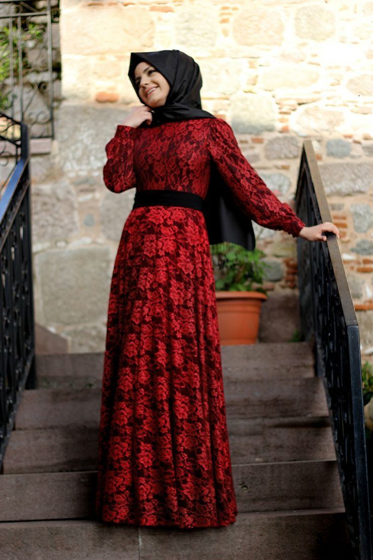 Http All Images Co فساتين محجبات دانتيل 2017 الرقة والشياكة Http All Images Co Fashion Hijab Fashion Dresses