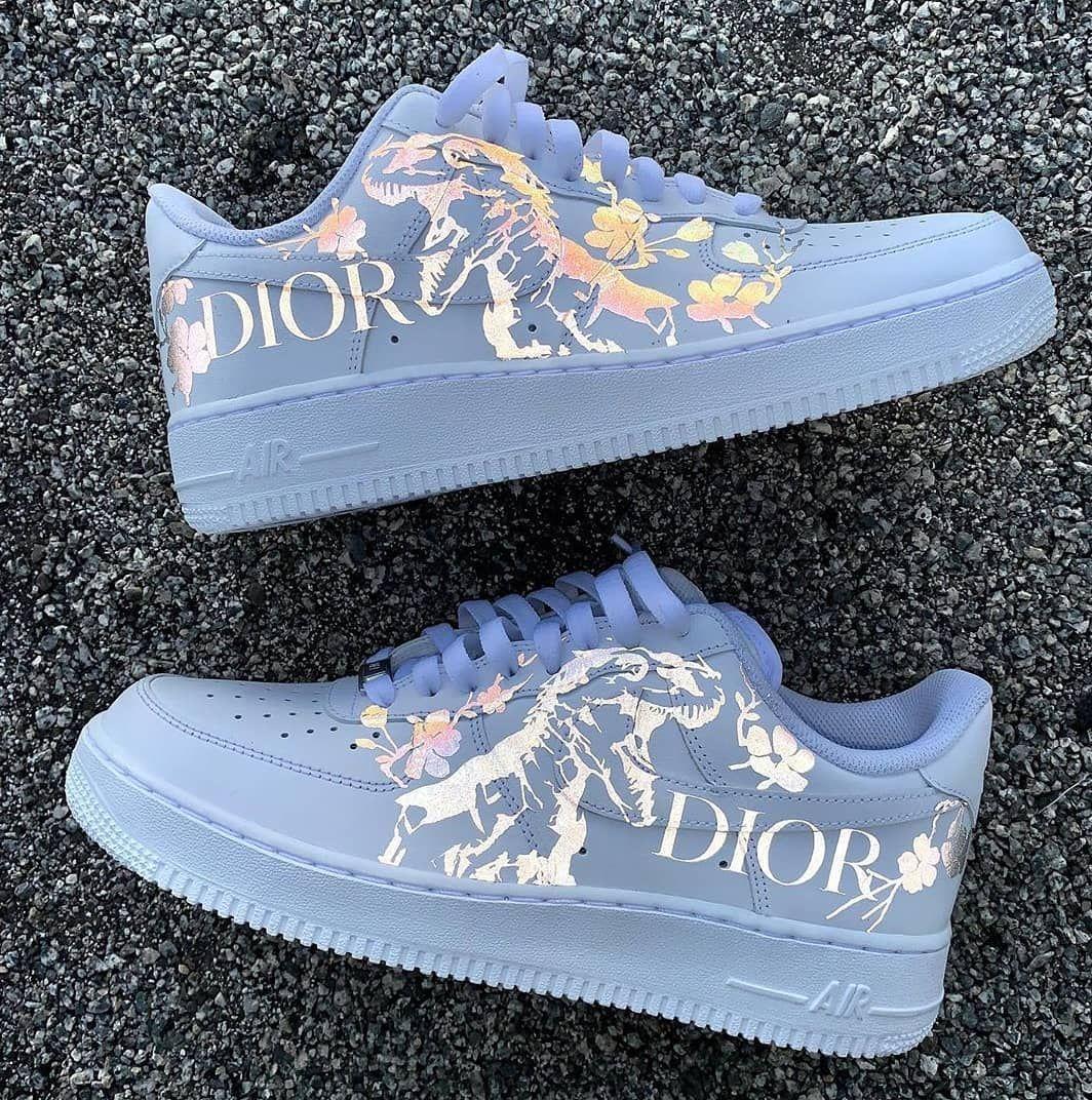 Custom Dior x Nike by @brahmacustoms Follow me @fr__sneakers