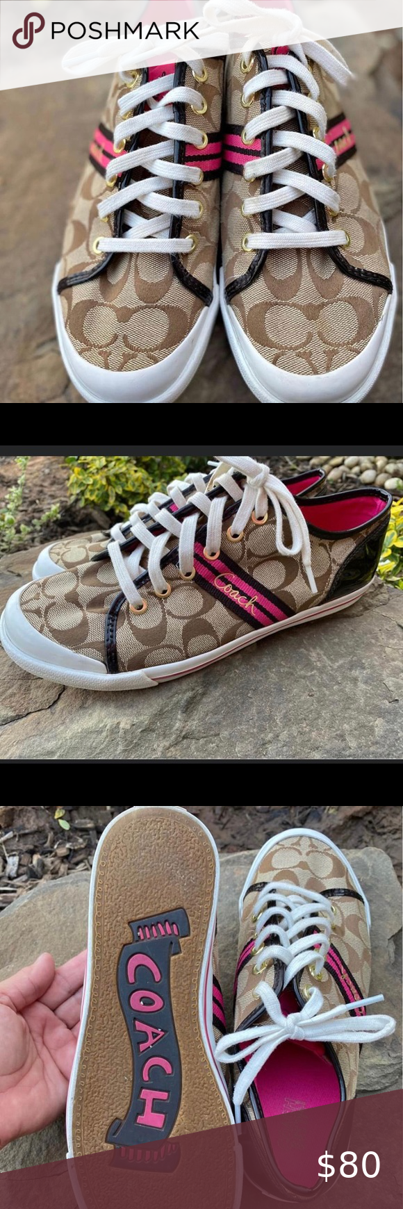 Coach Sneakers PreOwned very good condition Coach Shoes