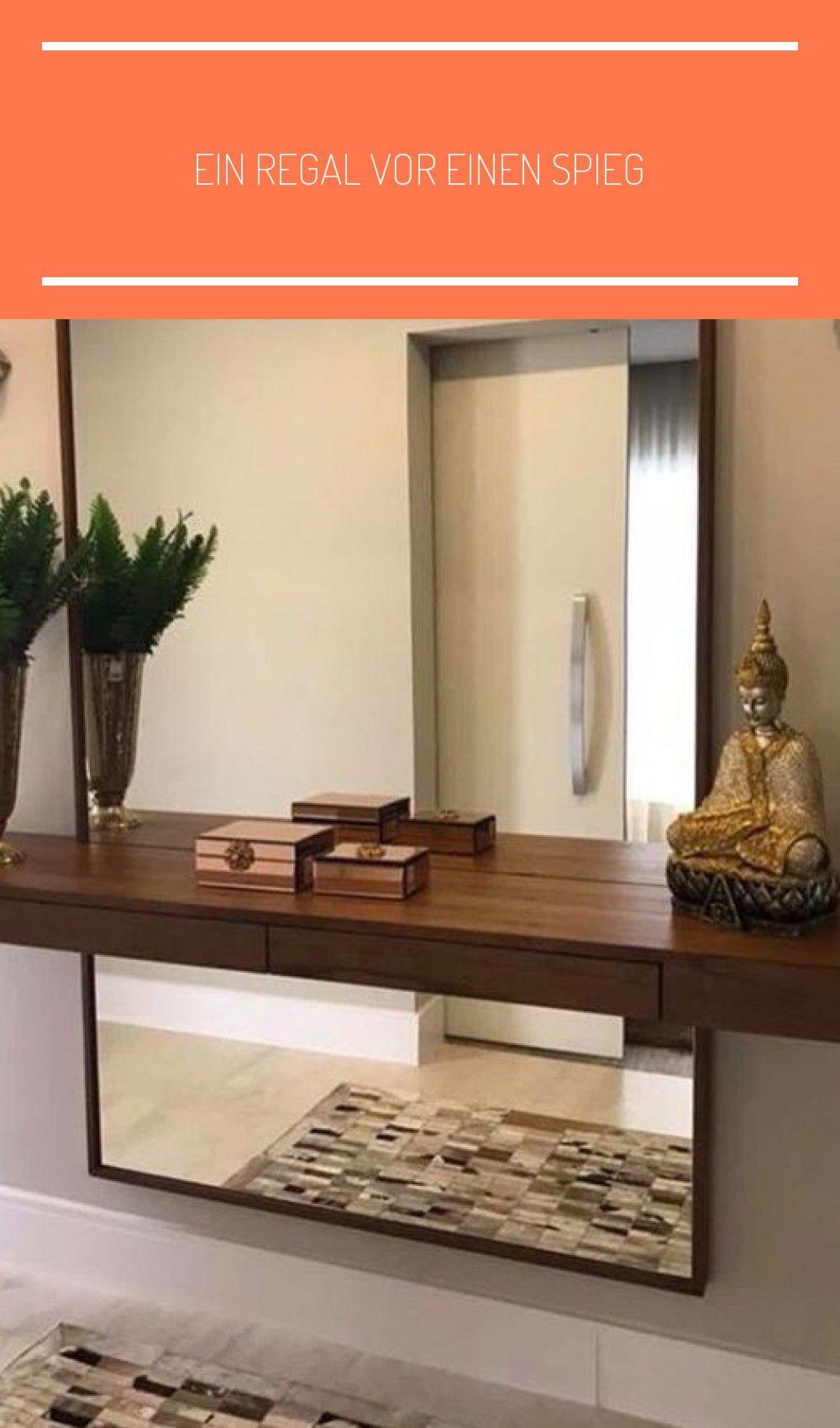 Photo of Ein Regal vor einen Spiegel zu stellen ist so ein Gre … – #Fron