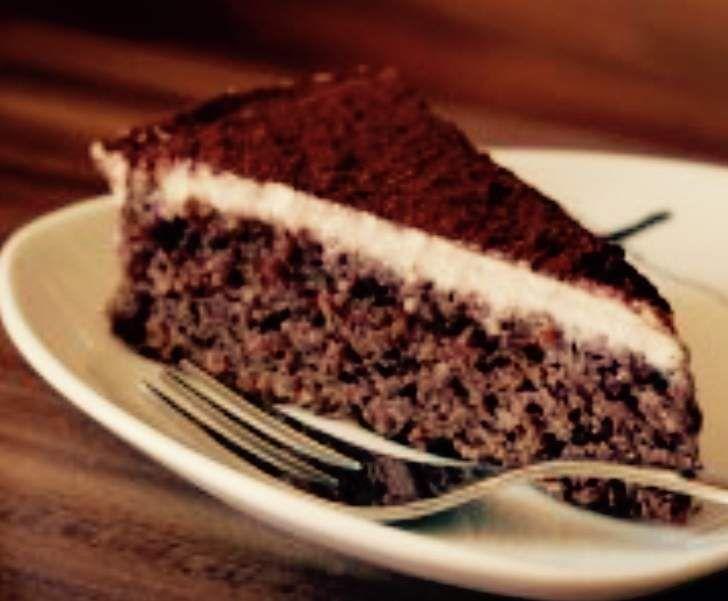 Mandel Schoko Torte Mit Cashewsahne Vegan Rezept Kuchen