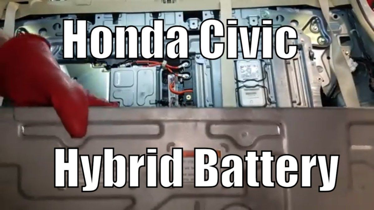 Honda Civic Hybrid Battery DCDC Converter Replacement