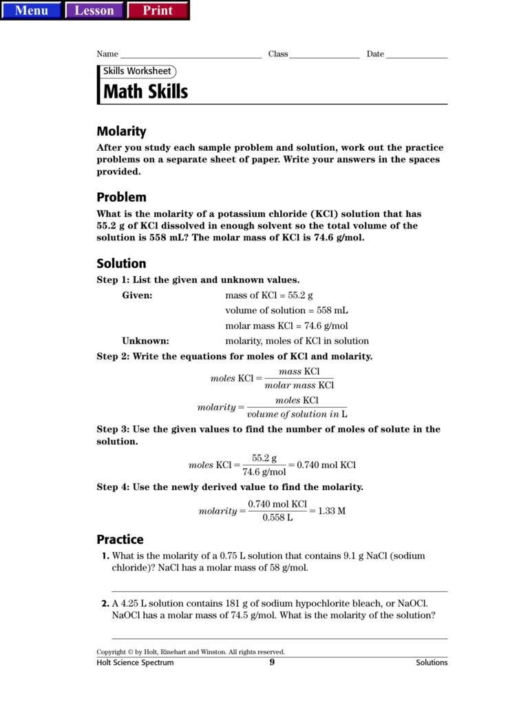 Holt Rinehart And Winston Worksheet Answers Geotwitter Kids Activities 6th Grade Spelling Words Biology Worksheet Chemistry Worksheets